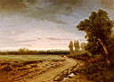 Oil painting reproduction of Going To The Pasture  Early Morning