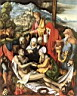 Oil painting reproduction of Lamentation for Christ