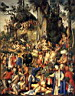 Oil painting reproduction of Martyrdom of the Ten Thousand