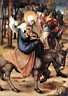 Oil painting reproduction of The Seven Sorrows of the Virgin The Flight into Egypt