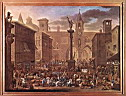 Oil painting reproduction of Market