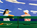 Oil painting reproduction of Alex Katz004