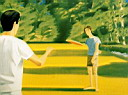 Oil painting reproduction of Alex Katz030