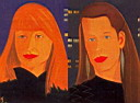 Oil painting reproduction of Alex Katz032