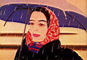 Oil painting reproduction of Alex Katz039