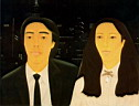 Oil painting reproduction of Alex Katz041
