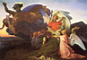 Oil painting reproduction of The Death of Moses 1851