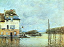 Oil painting reproduction of Alfred Sisley012