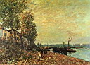 Oil painting reproduction of Alfred Sisley013