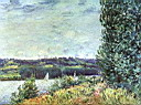 Oil painting reproduction of Alfred Sisley014