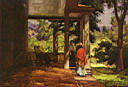 Oil painting reproduction of Alfred Sisley030