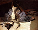 Oil painting reproduction of The Heron