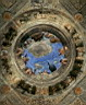 Oil painting reproduction of Ceiling Oculus WGA
