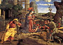Oil painting reproduction of The Adoration of the Shepherds