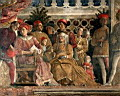 Oil painting reproduction of The Court of Mantua WGA