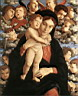Oil painting reproduction of The Madonna of the Cherubim