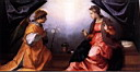 Oil painting reproduction of Annunciation WGA