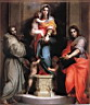 Oil painting reproduction of Madonna of the Harpies WGA