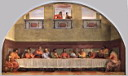 Oil painting reproduction of The Last Supper WGA
