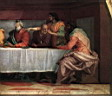 Oil painting reproduction of The Last Supper detail3 WGA
