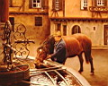 Oil painting reproduction of Riquewhir France