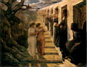 Oil painting reproduction of le_mauvais_sentier