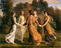 Oil painting reproduction of rayons_de_soleil