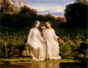 Oil painting reproduction of virginitas