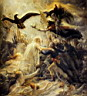 Oil painting reproduction of The Apotheosis Of The French Heroes Who Died For Their Country