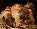 Oil painting reproduction of Annibale Carracci012