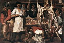 Oil painting reproduction of Butchers Shop WGA
