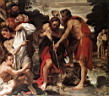 Oil painting reproduction of The Baptism of Christ