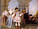 Oil painting reproduction of Antoine Watteau001