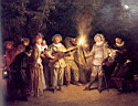 Oil painting reproduction of Antoine Watteau002