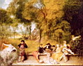 Click to Antoine Watteau(1684-1721) oil painting reproduction gallery