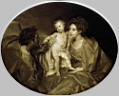 Oil painting reproduction of The Holy Family