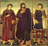 Oil painting reproduction of Altarpiece Of The SS Vincent James And Eustace