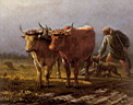 Oil painting reproduction of Plowing