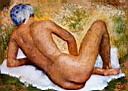 Oil painting reproduction of Aristide Maillol020