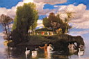 Oil painting reproduction of Arnold Bocklin003