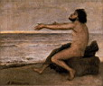Oil painting reproduction of Arnold Bocklin046