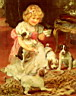 Oil painting reproduction of Tea Time