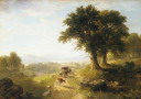 Oil painting reproduction of River Scene