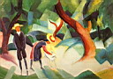 Oil painting reproduction of August Macke032