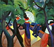 Oil painting reproduction of August Macke035