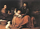 Oil painting reproduction of The Holy Family 1650
