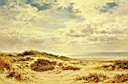 Oil painting reproduction of Morning On The Sussex Coast