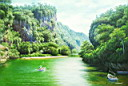Oil painting reproduction of Landscape122