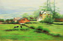 Oil painting reproduction of Landscape130