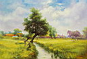 Oil painting reproduction of Landscape132